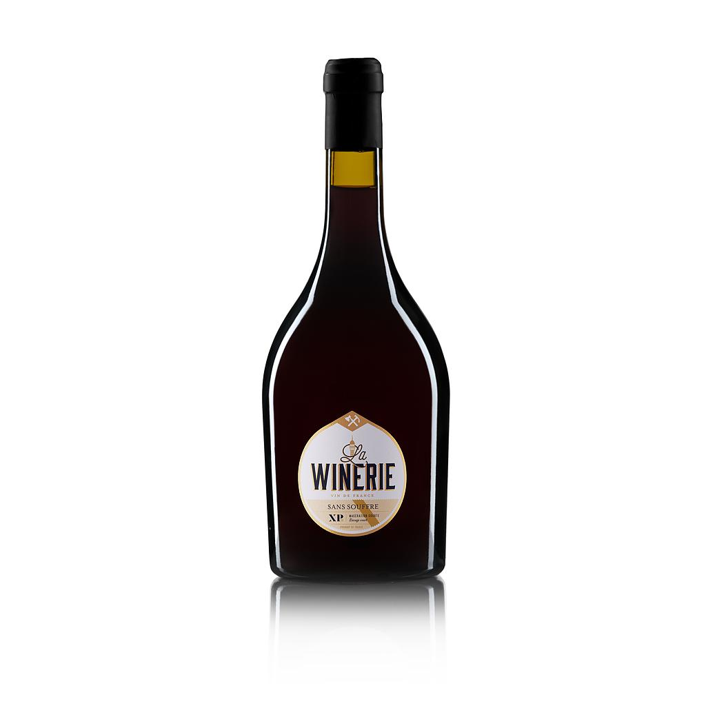 "LA WINERIE ""SANS SOUFRE"" XP ROUGE 2019 75CL 14% ALC Vin de France CRD"