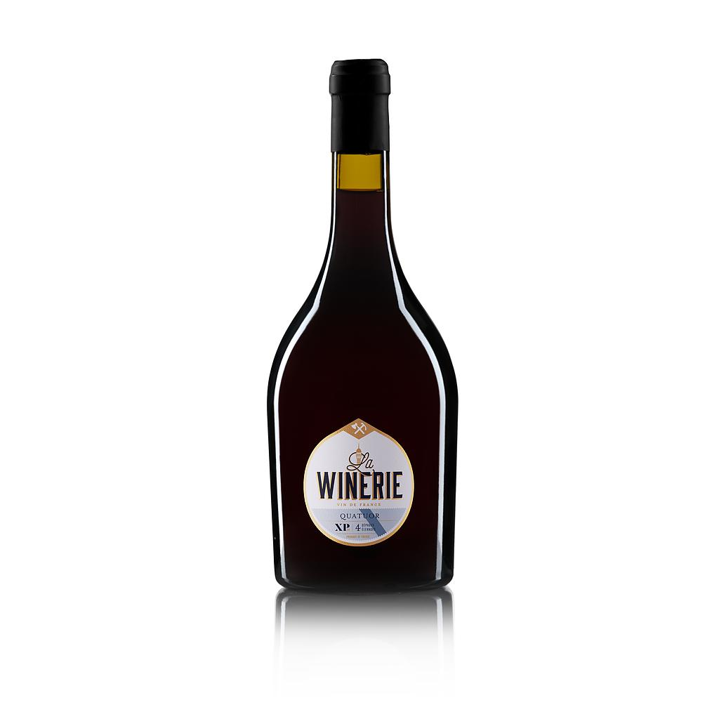 LA WINERIE XP QUATUOR Rouge 2018 75CL - 14.5% Alc. Vin de France CRD